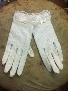 Victorian Lace Gloves by CarmenCreation on Etsy, $20.00