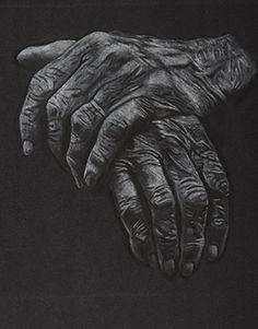 Elderly Women Wrinkly black and white photographs | AP Central - Exams: 2014 Studio Art Drawing Portfolio Student Samples