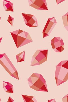 Gems by Sil Elorduy Diamond Gemstone, Backgrounds, Wallpapers, Gemstones, Quilts, Blanket, Patterns, Abstract, Artwork