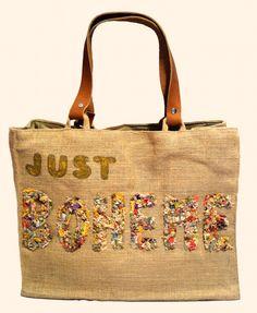"""""""Just Boheme kaki"""" Beach bags www.sylt-boheme.de"""