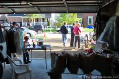 garage sale tips...very detailed and good suggestions