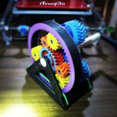 3D printed gears that work.