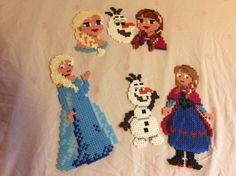 Elsa, Anna, Olof i hama pärlor