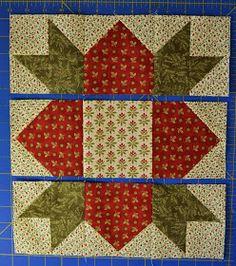 Chock-A-Block Quilt Blocks: Weathervane Christmas Quilt Patterns, Barn Quilt Patterns, Beginner Quilt Patterns, Paper Piecing Patterns, Pattern Blocks, Christmas Quilting, Quilt Blocks Easy, Strip Quilts, Easy Quilts