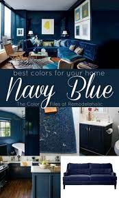 navy blue inspired rooms ile ilgili görsel sonucu