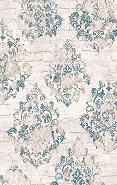 Flora Ceren 3245B KREM -  Damask Desenli Halı