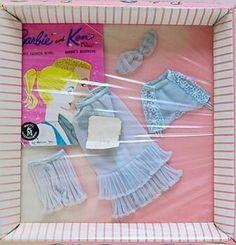 1962/63 Barbie - Lingerie Pack (Wash Cloth) #