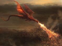 Red dragon by Manzanedo.deviantart.com on @DeviantArt