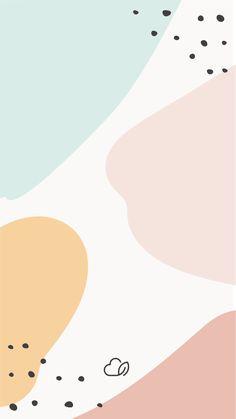 Use esse wallpaper no seu celular para combinar com o Planner Organize Memphis! Abstract Iphone Wallpaper, Iphone Background Wallpaper, Pastel Wallpaper, Aesthetic Iphone Wallpaper, Aesthetic Wallpapers, Cute Wallpaper Backgrounds, Tumblr Wallpaper, Cute Wallpapers, Artsy Background