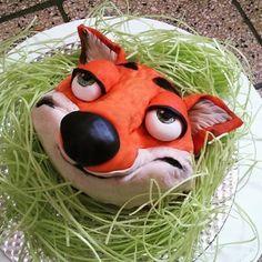Nick Wilde from Zootopia Cake