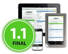 The jQuery Mobile team is excited to announce the release of version 1.1.0.