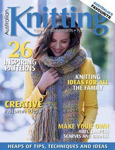 Australian Knitting Volume 8 №1 2016 - 轻描淡写 - 轻描淡写