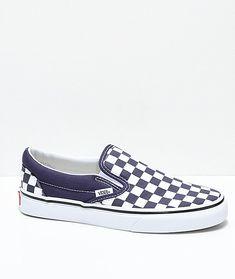 Vans Slipper Forest Green & White Schachbrett Damen Skate Schuhe