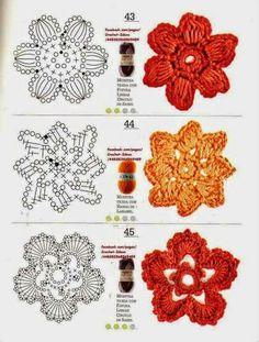 Watch The Video Splendid Crochet a Puff Flower Ideas. Wonderful Crochet a Puff Flower Ideas. Crochet Diy, Freeform Crochet, Crochet Diagram, Crochet Chart, Irish Crochet, Crochet Motif, Crochet Puff Flower, Crochet Flower Patterns, Crochet Designs