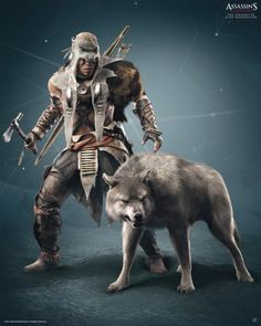 Poster Assassin's Creed 3 Loup