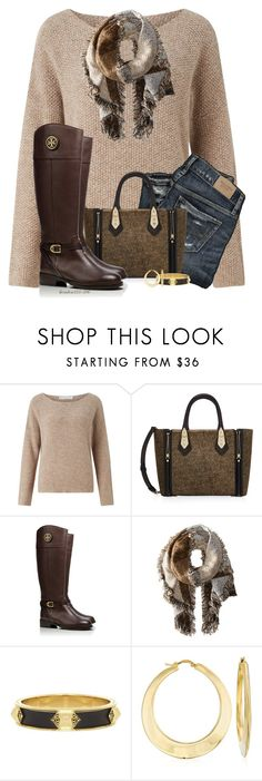 """Brrr!"" by houston555-396 ❤ liked on Polyvore featuring John Lewis, Henri Bendel, Tory Burch, San Diego Hat Co., House of Harlow 1960 and Ross-Simons"