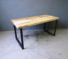 Industrial Chic Reclaimed Custom Office Desk Bar by RetroCorner1, £199.00