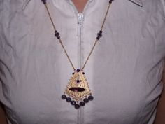 Ancient Royalty  A necklace that is by VintageNoirBoutique on Etsy, $37.00