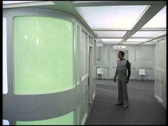 Space 1999 - Mondbasis Alpha 1 Travel Tube (with vacuum cleaner sound) Sliding Doors Commlock
