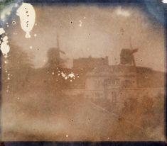 Montmartre 1839 - Hyppolyte Bayard - Il y a 174 ans !!! Cette photo est l'une des plus anciennes de la Capitale.