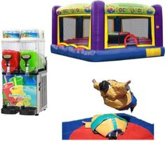 The Ultimate Gladiator Package From Castle Capers Jumping Castle Hire