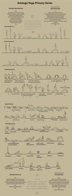 ashtanga primary series-deceptively hard. takes roughly four years of daily…