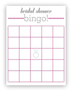 bridal shower bingo bingo cards and bingo on pinterest. Black Bedroom Furniture Sets. Home Design Ideas