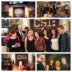 Fun, games and an #Elvis surprise w/ @CSI_CBS cast today! Tune in, #TheTalk