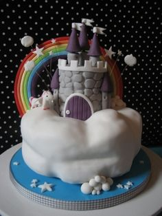Dream castle By Haaz76 on CakeCentral.com