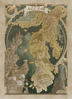 Fantasy Illustration, Graphic Illustration, Illustrations, Cartographers Guild, Medieval, Fantasy World Map, Architecture Mapping, Up To The Sky, Weird World