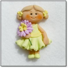 *POLYMER CLAY ~ Miss Mollie