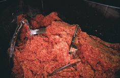 "Your ground beef may contain 'lean meat product' or other fillers  You're probably sick of hearing about ""pink slime"" and, frankly, so are we, but when you buy ground beef, you're sort of expecting that it was, y'know, a cut of beef that's been ground. Ammonia or no, it's gross to find out that what you're paying good money for has been cut with meat sludge.  Learn more about pink slime"