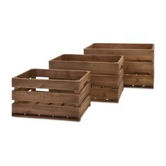 Imax Ainsley Crates - Set of 3