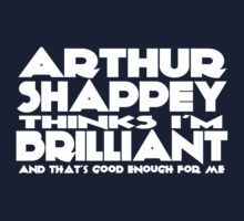 Cabin Pressure. Arthur Shappey thinks I'm brilliant! Lol