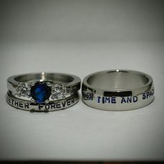 Doctor Who inspired 3 piece Wedding SetHand par LawrenceCustoms