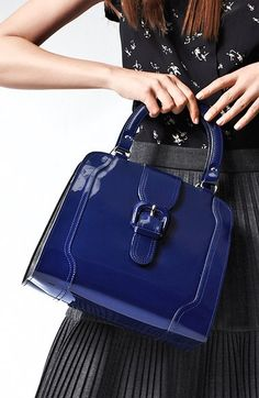 Free shipping and returns on Marni 'Medium' Patent Leather Frame Bag at Nordstrom.com. Patent shine perks up a vintage-whimsy bag styled with a sculpted handle and buckle-detailed tab.