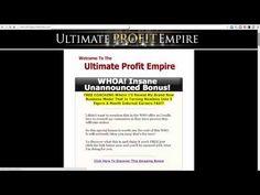 Ultimate Profit Empire By Alex Jeffrey - Honest review & valuable bonus.
