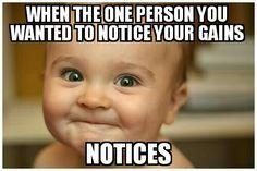 Me! I'm always the last to notice!