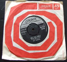 """Roy Orbison - Only The Lonely - 7"""" Vinyl Single - London • £4.99 - PicClick UK"""