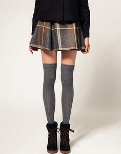 Over the knee socks.