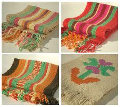 Caminos de mesa tejidos en telar. Inkle Weaving, Hand Weaving, Textiles, Tear, Chrochet, Loom Knitting, Handmade Crafts, Projects To Try, Lily