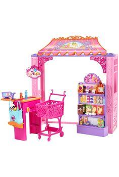 "Barbie - Malibu Ave Shop, supermarkt - Mattel - Toys""R""Us Mattel Barbie, Barbie Doll Set, Barbie Sets, Barbie Doll House, Barbie Life, Barbie Dream House, Barbie Fashionista, Baby Girl Toys, Toys For Girls"