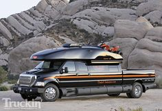 Dunkel Industries Luxury Ford F650 4x4 Expedition Truck