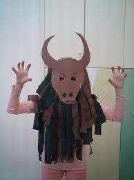 Ancient Greece--Minotaur costume for kids -- ? Ancient Greece Display, Ancient Greece Crafts, Ancient Greece Ks2, Greek History, Ancient History, Art History, Greek Myths For Kids, Minotaur Costume, Greek Crafts
