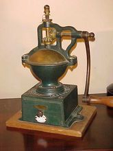 Excellent & Rare 1880's French Peugeot Freres Coffee Mill