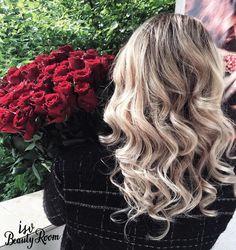 #isvbeautyroom #isvteam #blondehair #balayage #roses #redroses Red Roses, Blonde Hair, Make Up, Long Hair Styles, Beauty, Yellow Hair, Long Hairstyle, Makeup, Long Haircuts