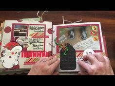 (251) My December Daily - Christmas in July - days 11-15 2014   dearjuliejulie - YouTube