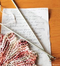 An Almost Lost Washcloth Tutorial