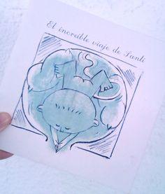 Portada del libro infantil El Increible viaje de Santi