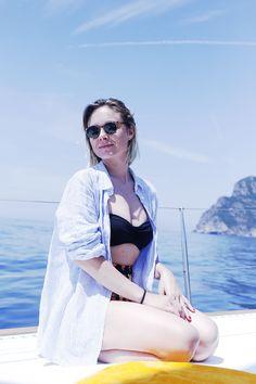 Portofino, boat, pin-up style